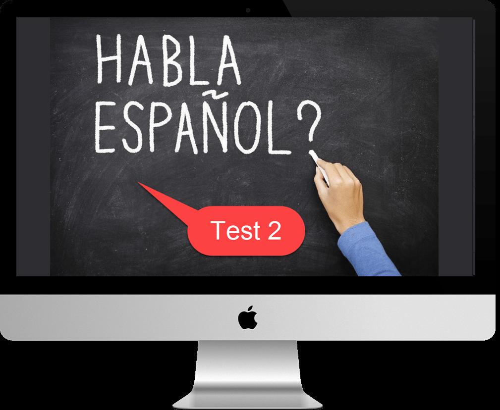 Klik op de Mac om de test te starten